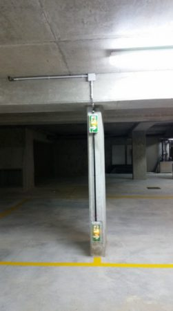 Installation électrique en sous-sol