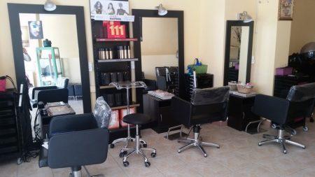 Travaux au salon de coiffure WATE BEAUTE